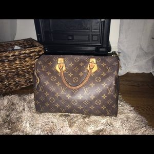 Auth Louis Vuitton Speedy 30